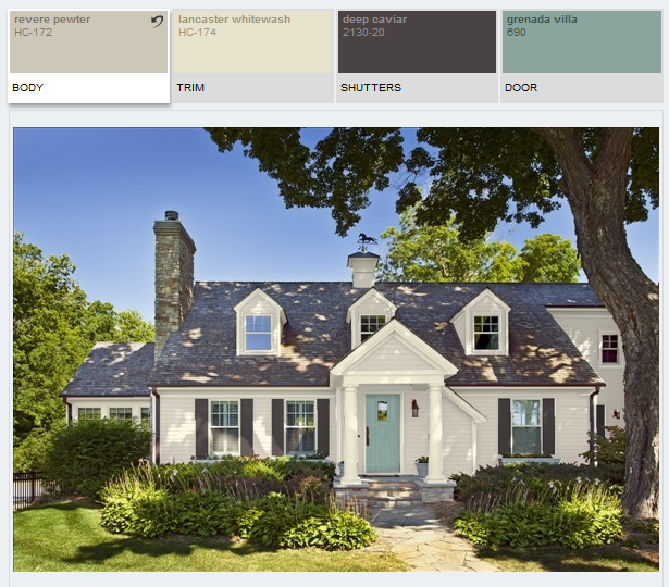 Best Ideas About Benjamin Moore Home Exterior Paint Idea Revere Pewter