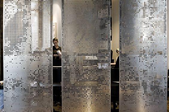 WP /_ Room /_ 723 Nicolas/'S ROOM-Piastra Muro in metallo
