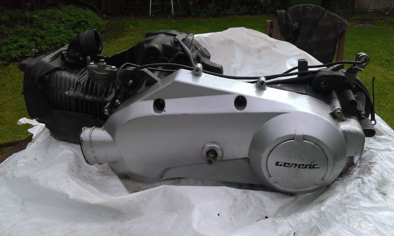 GENERIC 125 cc SCOOTER ENGINE - COMPLETE #complete #engine