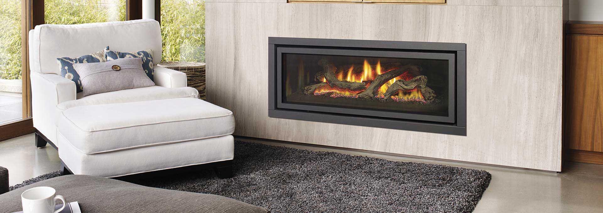 Linear Gas Fireplace Ultimate 1500e Regency Fireplace Products