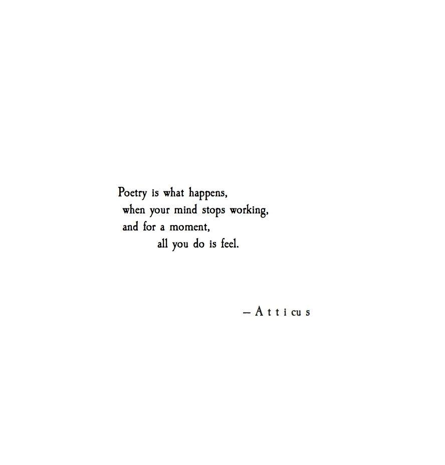 #poetry #magic #atticuspoetry