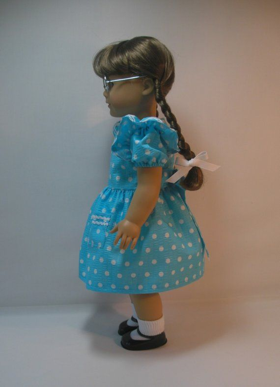 18 Inch Doll Clothing American Girl Doll Dress by terristouch