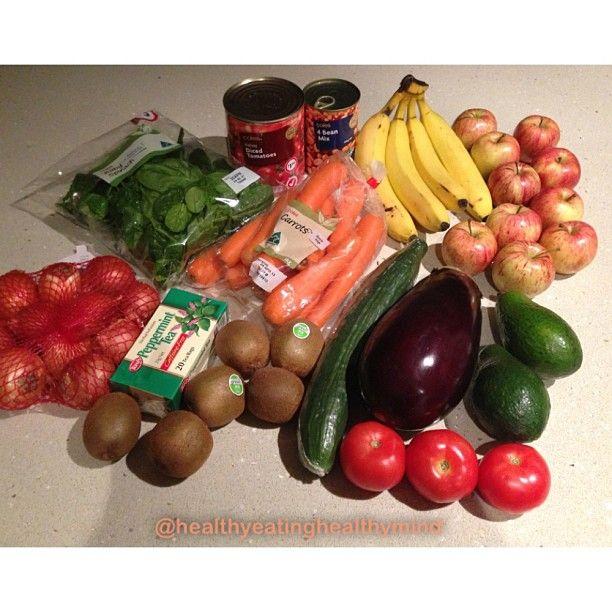 I love food shopping way too much 😍 #fitspo #vegetarian #health #followback #organic