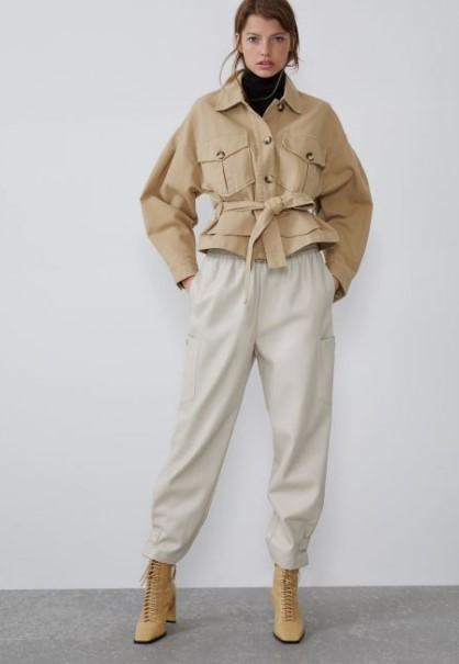 Zara Sonbahar Kis Bayan Pantolon Modelleri 2020 Trendler Ve Moda Moda Zara Pantolon