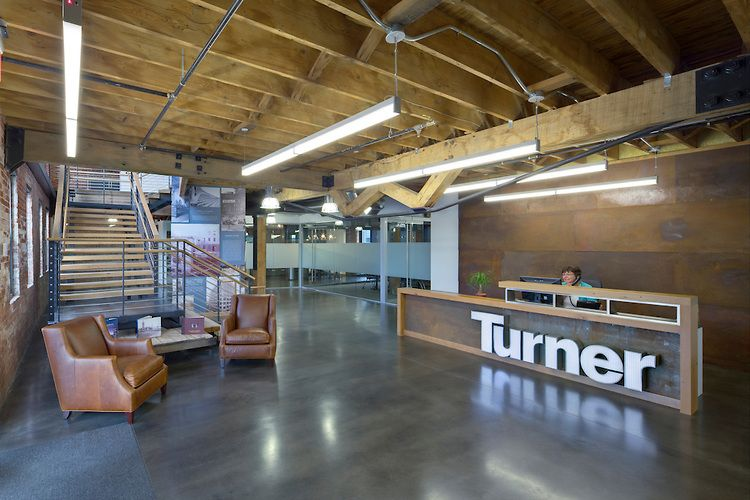 Turner Construction Company Columbus Office Brad Feinknopf Office Awards Architect Corporate Interiors