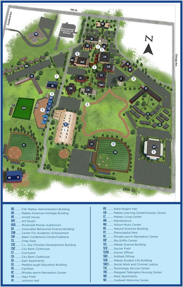 Lcu Campus Map Awesome Pinterest