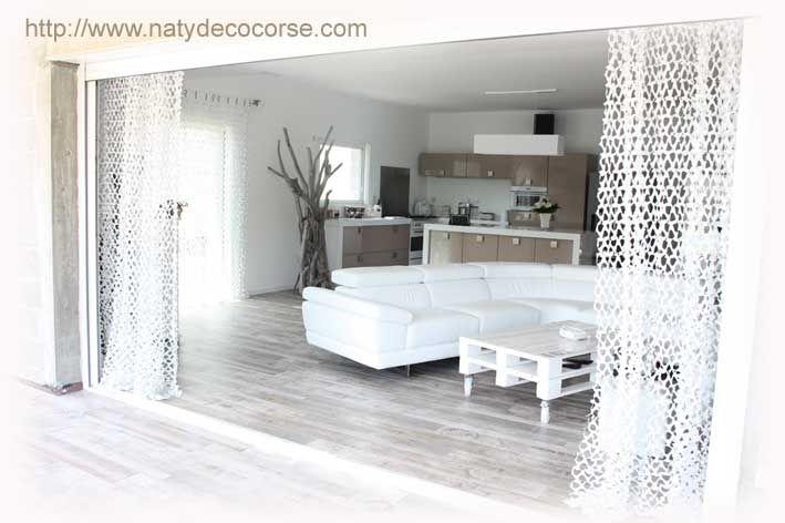 rideau de camouflage blanc NATYDECO sur site http://www ...