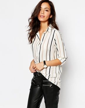 492cd05457d96e New Looked Striped Shirt from ASOS | Daily Haul | Shirt blouses ...