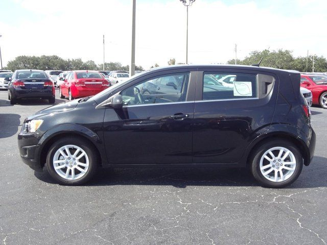 2014 Chevrolet Sonic Lt Hatchback Black Granite Metallic Chevy