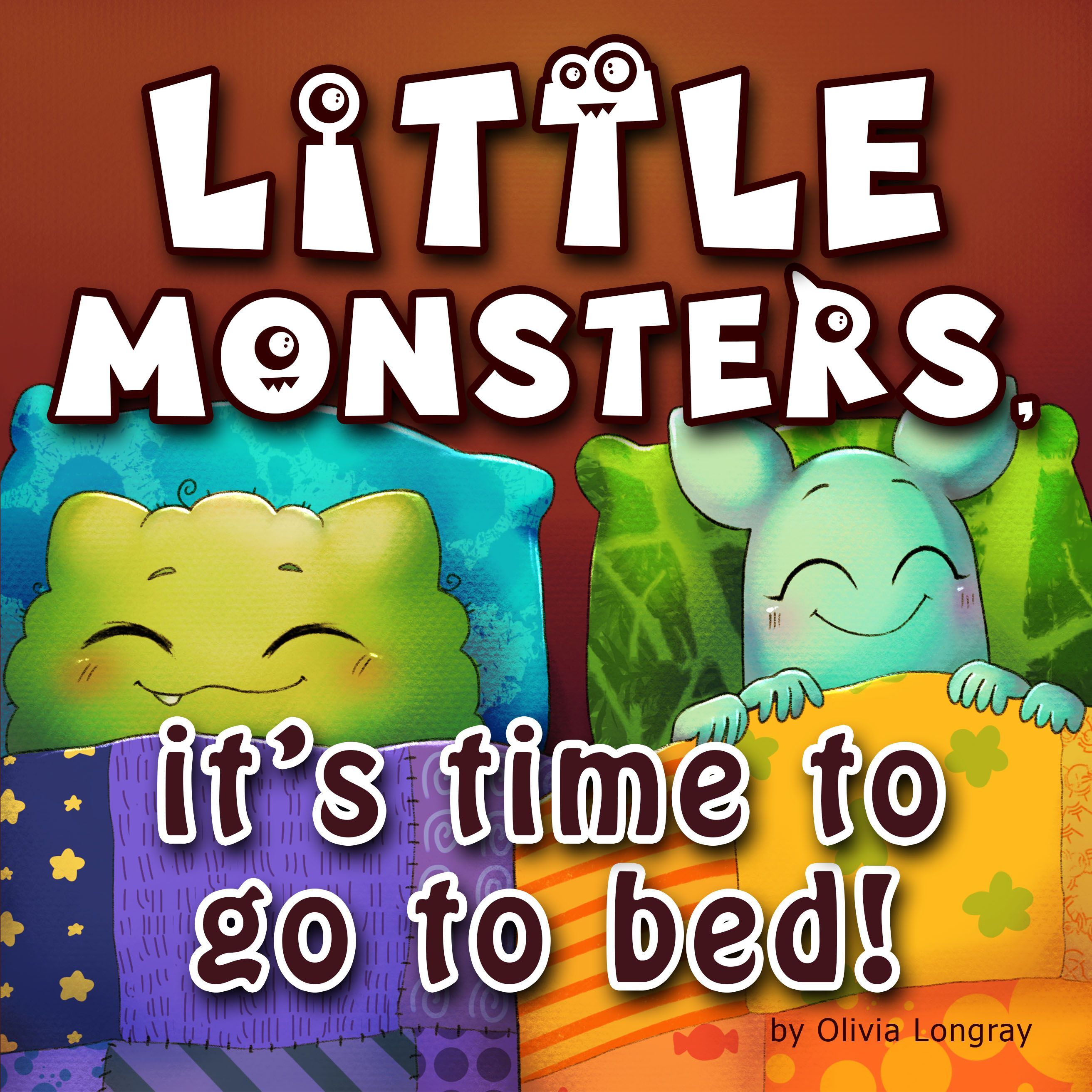 Little monsters, it's time to go to bed! Children's