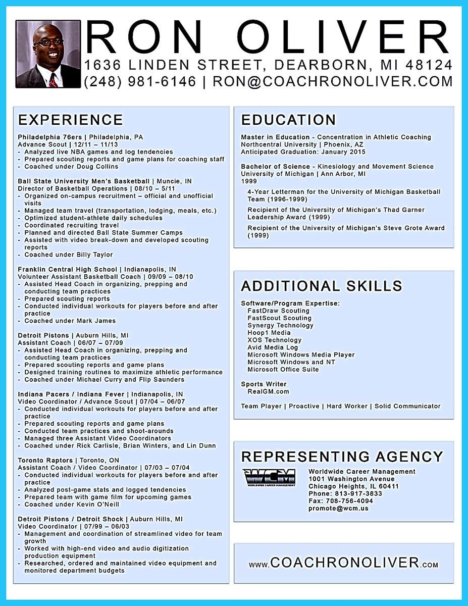 Cool Captivating Thing For Perfect And Acceptable Basketball Coach Resume Check More At Http Snefci Org Captivating Thi Resume Report Template Sample Resume