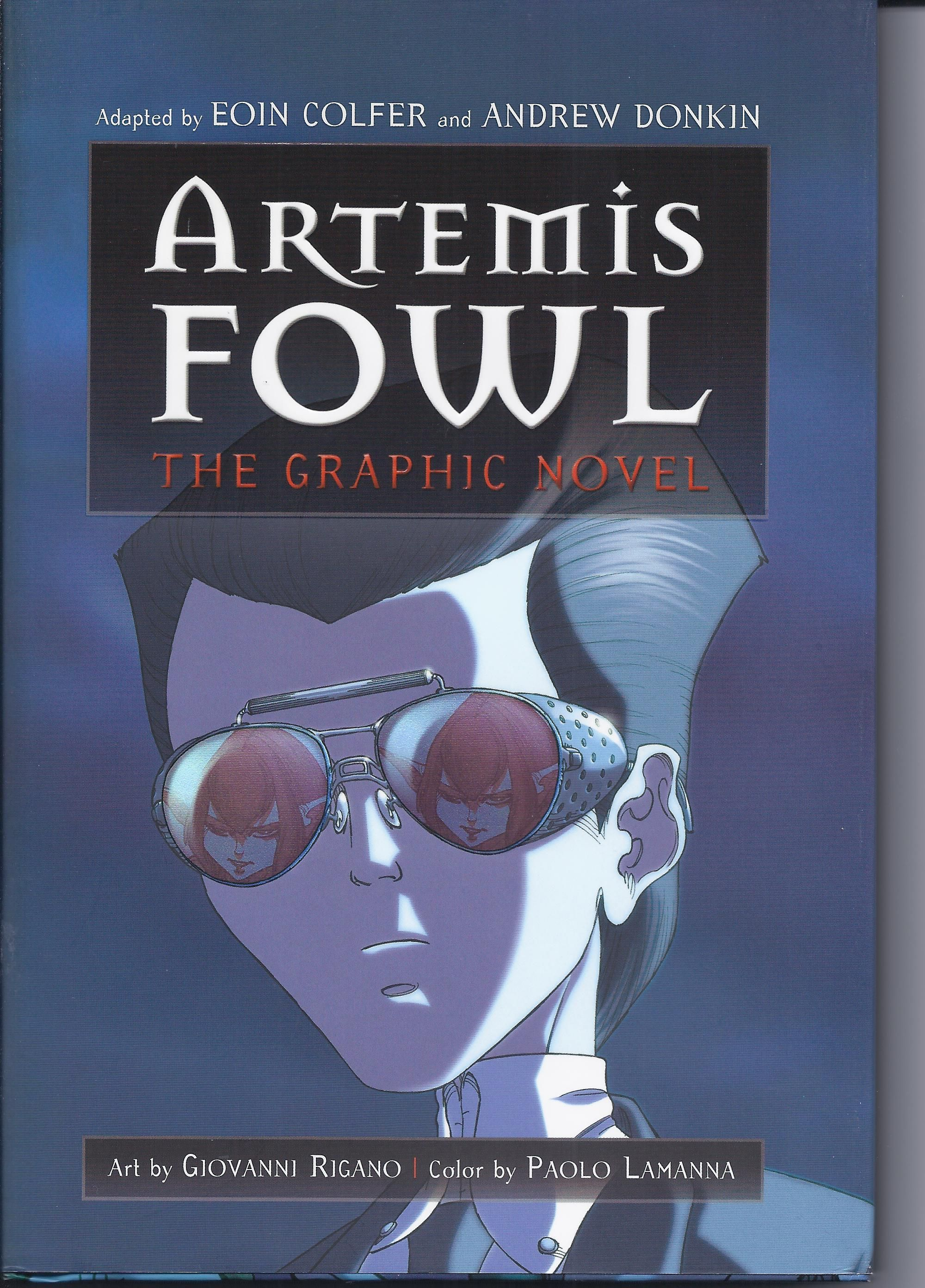 Cover To The Hyperion American Edition Of The First Artemis Fowl Graphic  Novel By Eoin