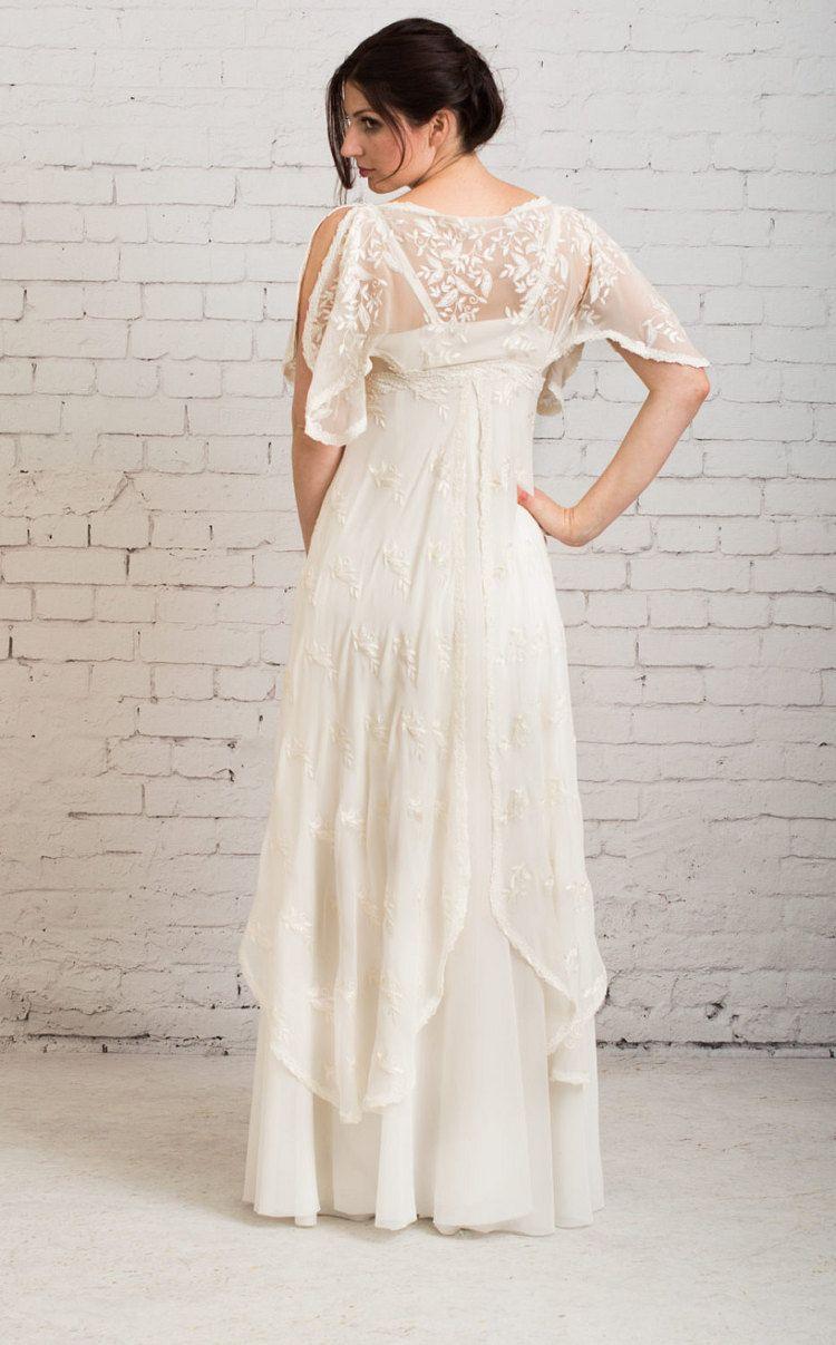 Casual wedding Dress, Simple wedding dress, Rustic Wedding Dress ...