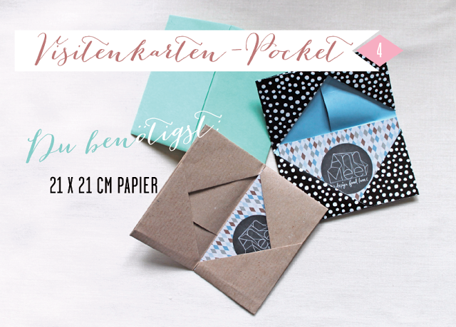 Diy paper pocket for your business cards by anner diy diy paper pocket for your business cards by anner diy visitenkarten etui solutioingenieria Images
