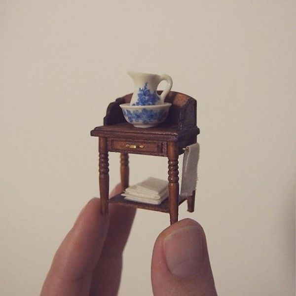 Emily Boutard quit her full-time job as a corporate lawyer to make tiny architectural models and furniture.