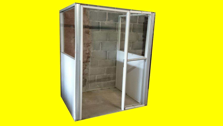 Cloison Bureau Atelier Maison aluminium porte coupe feu bois