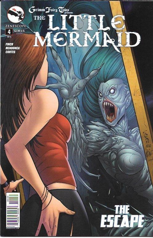 Grimm Fairy Tales Presents : The Little Mermaid # 4 Zenscope Entertainment Cover C