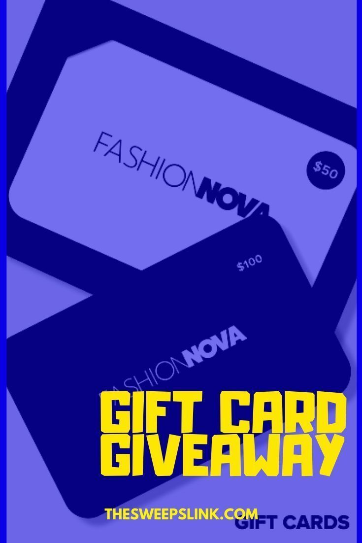 Fashion nova gift card giveaway fashionnovagiftcards