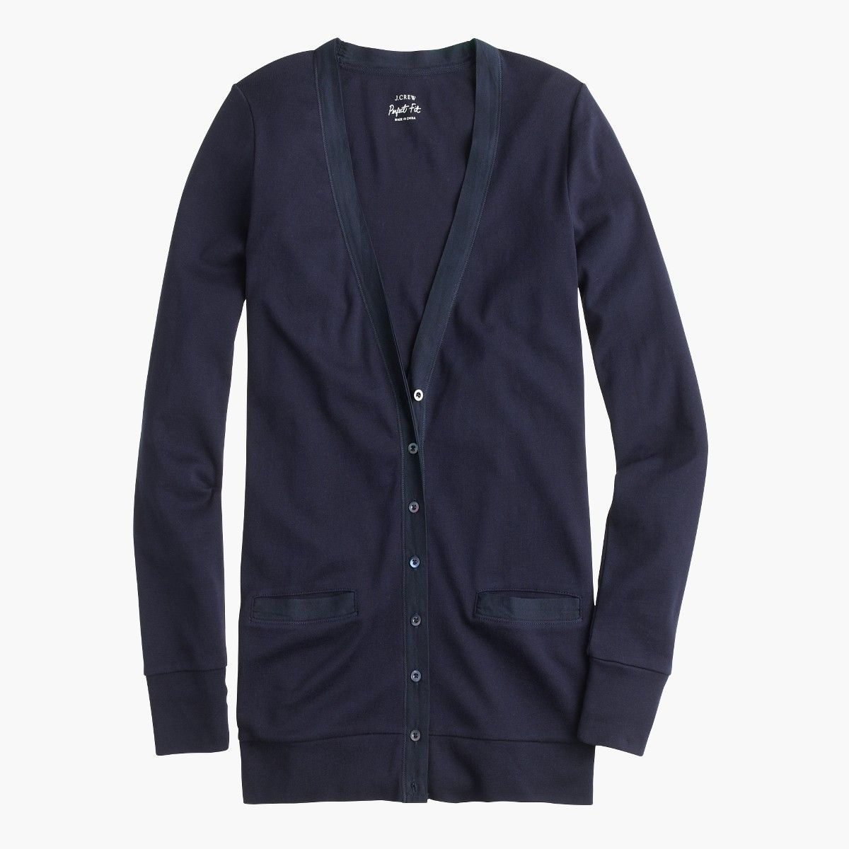 Shop the Perfect-Fit Mixed-Tape Cardigan Sweater at JCrew.com and ...