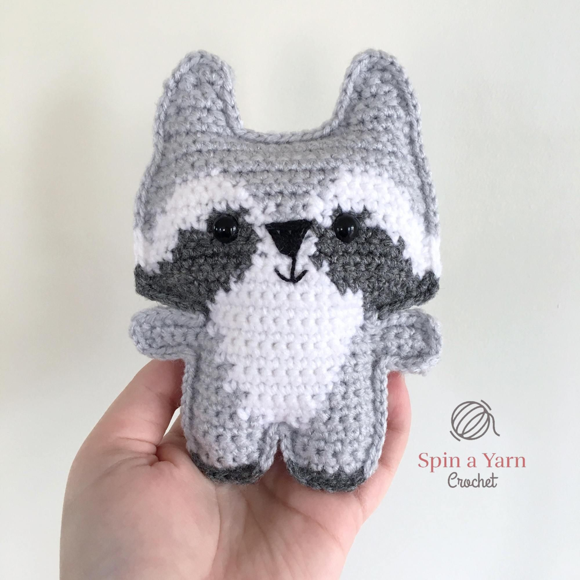 Pocket Raccoon Free Crochet Pattern | Crochet: Amigurumi | Pinterest ...