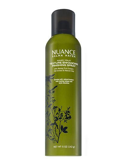 Nuance Salma Hayek Mamey Fruit Texture Enhancing Finishing Spray | allure.com