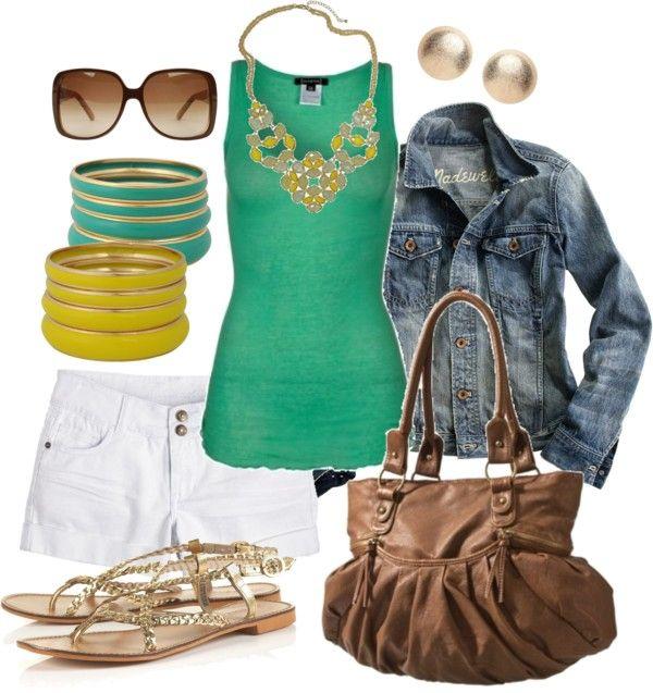 green & yellow summer