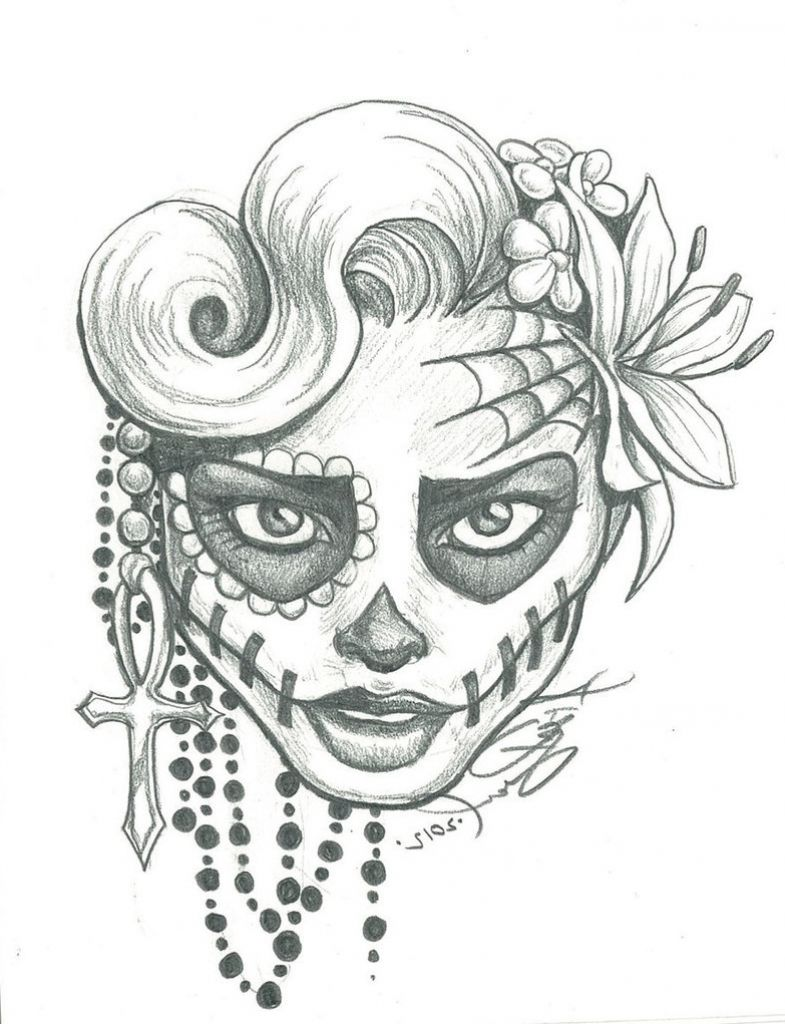 drawing a sugar skull easy candy skull drawings drawing artisan