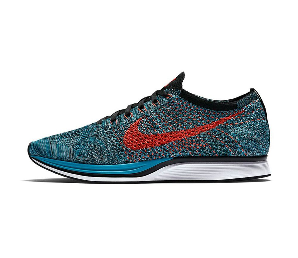 "new product c8c5d 8c80f NIKE FLYKNIT RACER ""FIRE   ICE"""