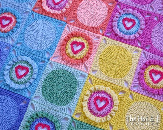 CROCHET PATTERN Follow Your Heart a crochet heart by TheHatandI ...