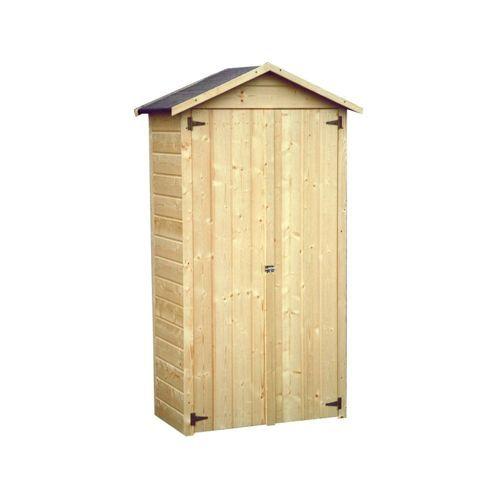 Décor et Jardin - Décor et Jardin - Armoire de rangement en bois - abris de jardin adossable
