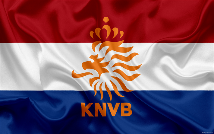Download Wallpapers Netherlands National Football Team Emblem Logo Football Federation Flag Europe Flag Of The Netherlands Football World Cup Wallpaper Copa Do Mundo Futebol