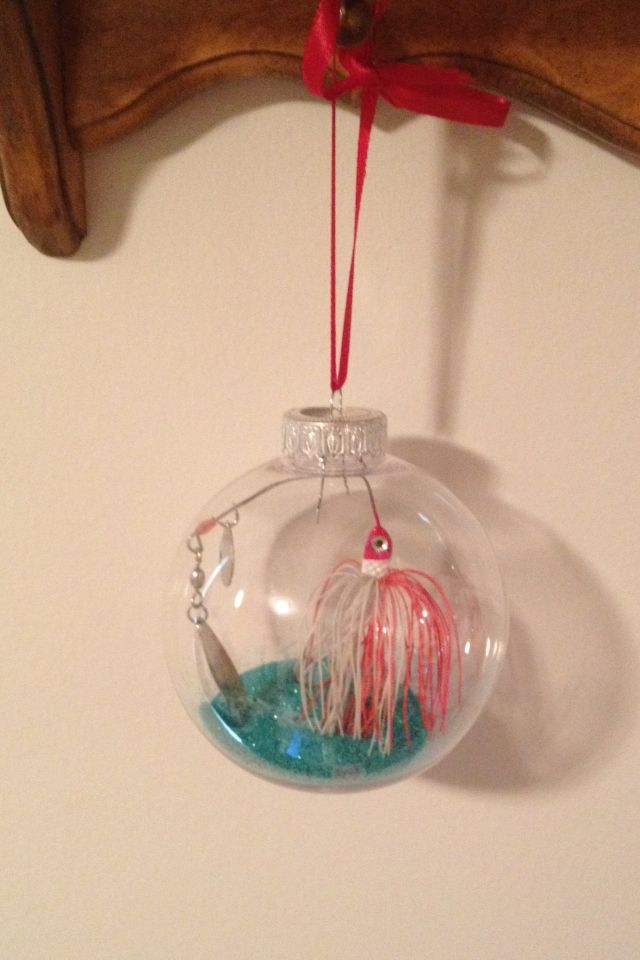 DIY fishing lure ornament (With images) | Fishing ...