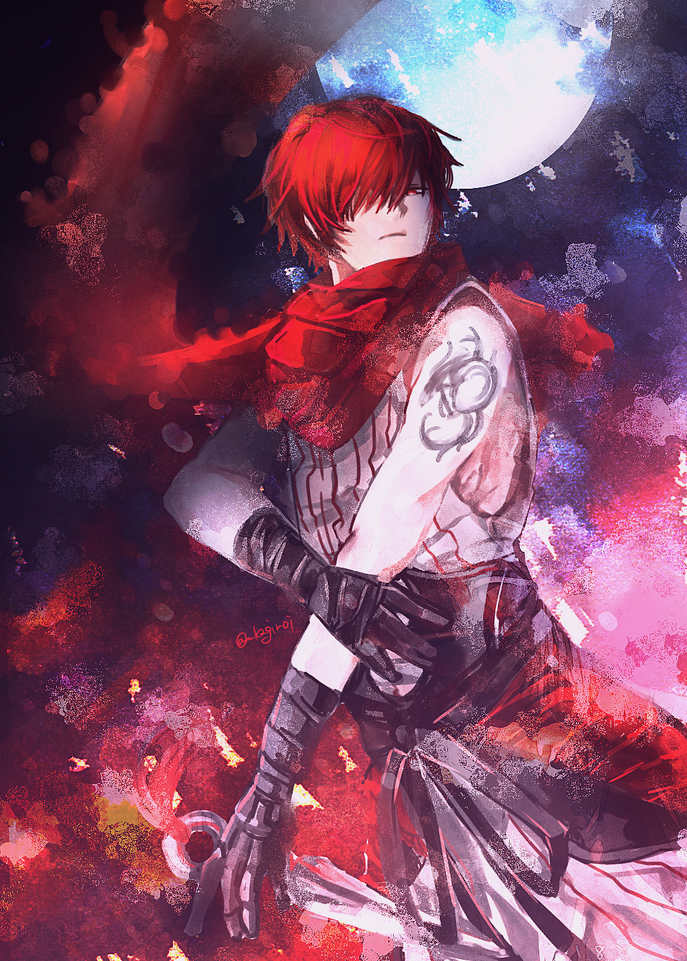 Pinterest Evil Anime Anime Red Hair Red Hair Anime Guy