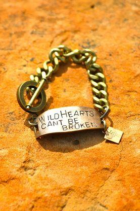 Wild hearts can't be broken bracelet!