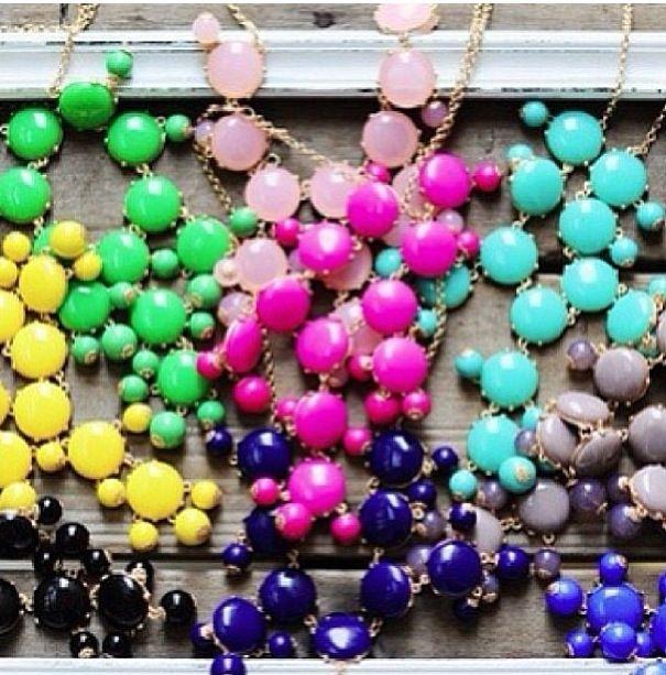 Bubble necklaces!