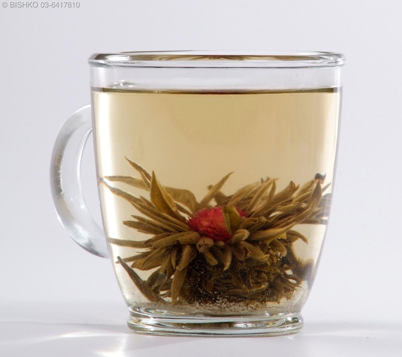 jasmine flower tea bomb
