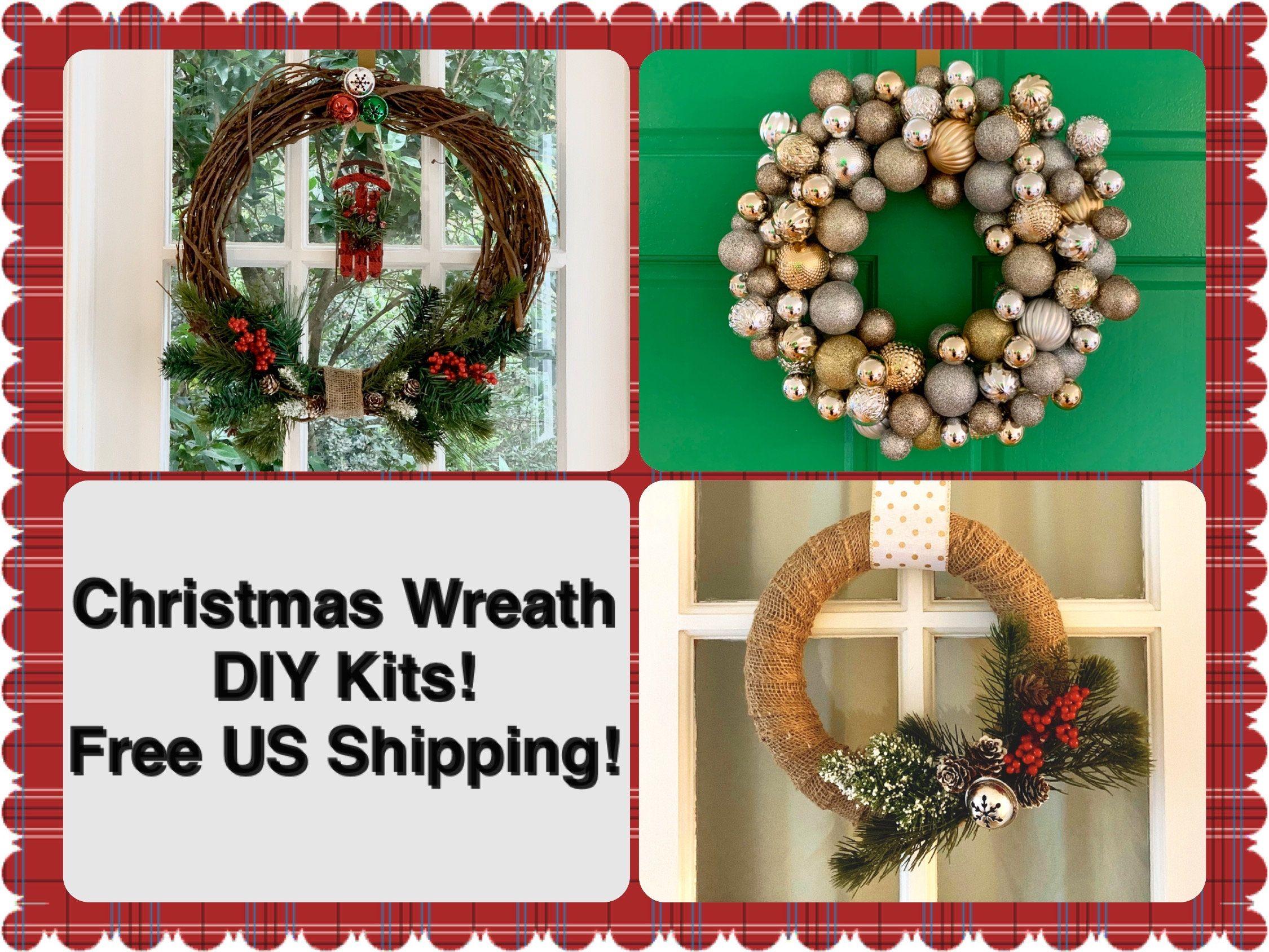 CHRISTMAS WREATH DIY CRAFTING KIT