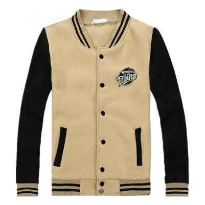 Womens Yellow Brown Emboridery Patch Baseball Jacket | Fashion ...