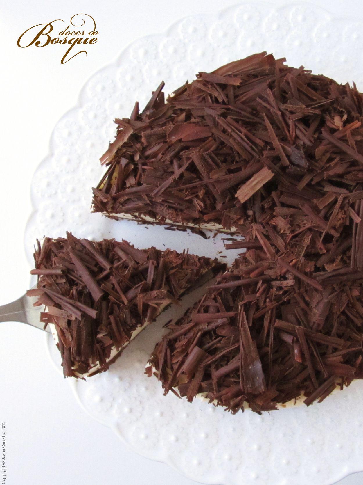 Cheesecake de Chocolate • Chocolate Cheesecake | Doces do Bosque