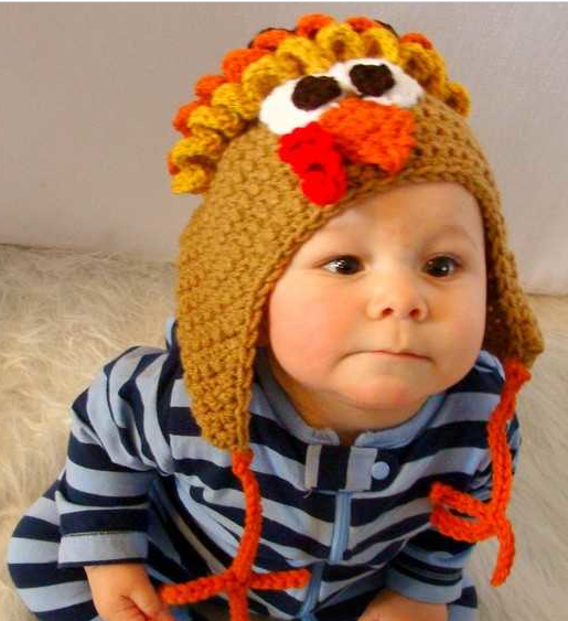 How To Make A Baby Turkey Hat Baby