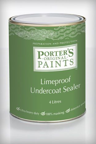 Porteru0027s Limeproof Undercoat Sealer Is An Exterior/interior Use Undercoat  Primer/sealer That Can