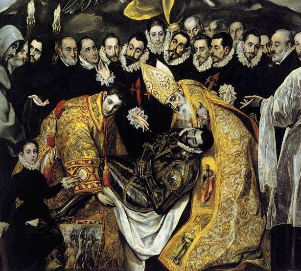 Toledo, Spain / El Greco. El Greco was one of the most famous painters in spain. Spain is where his tomb is.