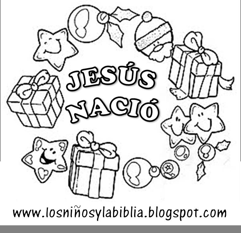 Gallery For Dibujos Para Colorear De Navidad Cristianos