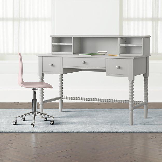 Kids Jenny Lind Grey Spindle Desk Furniture Desk