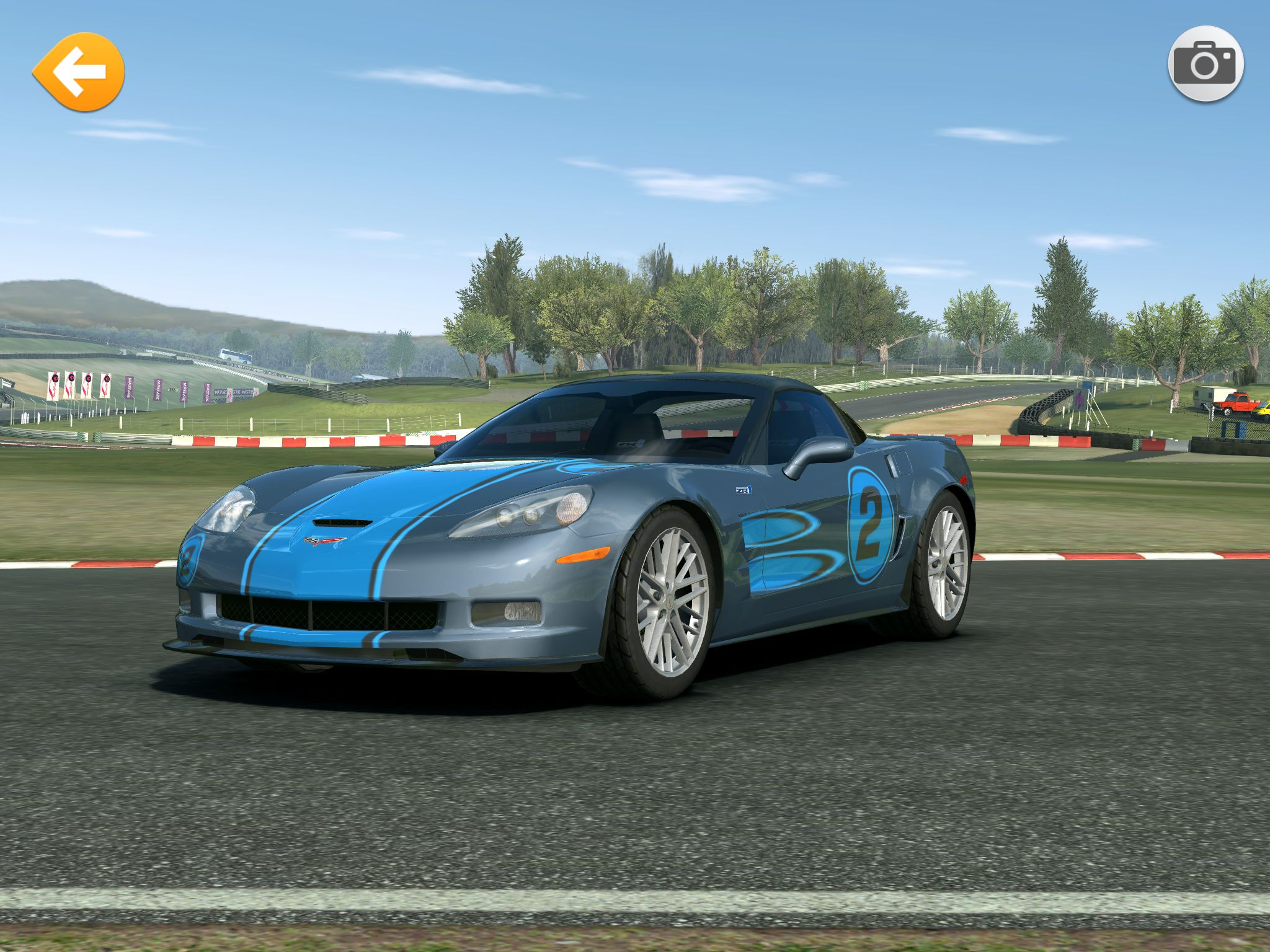 Blue Flame Blue Flames Real Racing Sports Car