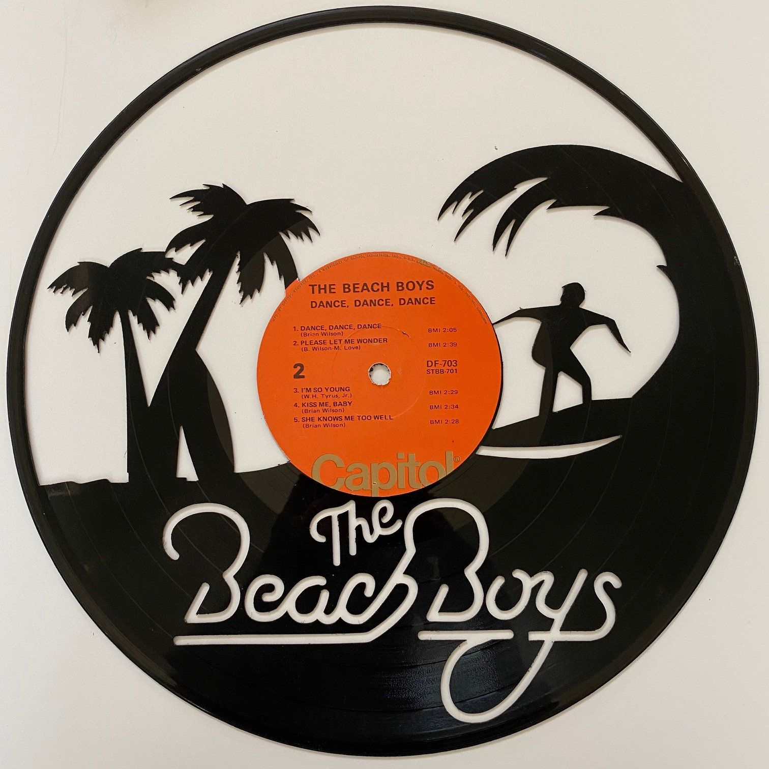 Excited To Share The Latest Addition To My Etsy Shop Beach Boys Vinyl Record Art Https Etsy Me 365w24a Office Vinyl Record Art Vinyl Album Art Record Art