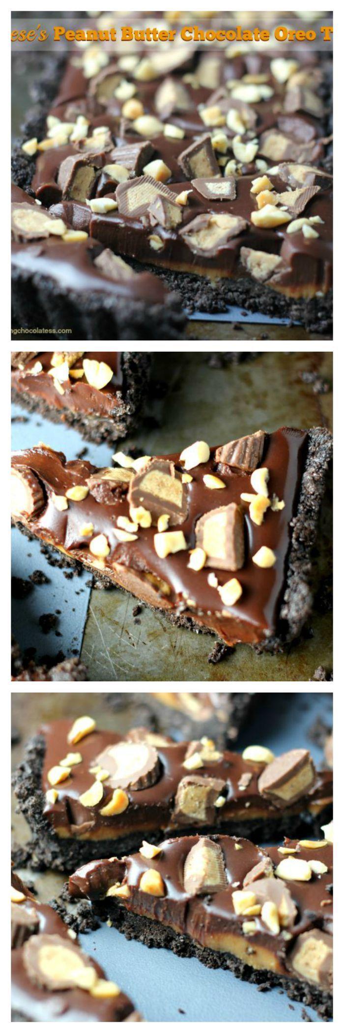 Reese's Peanut Butter Chocolate Oreo Tart – The Baking ChocolaTess