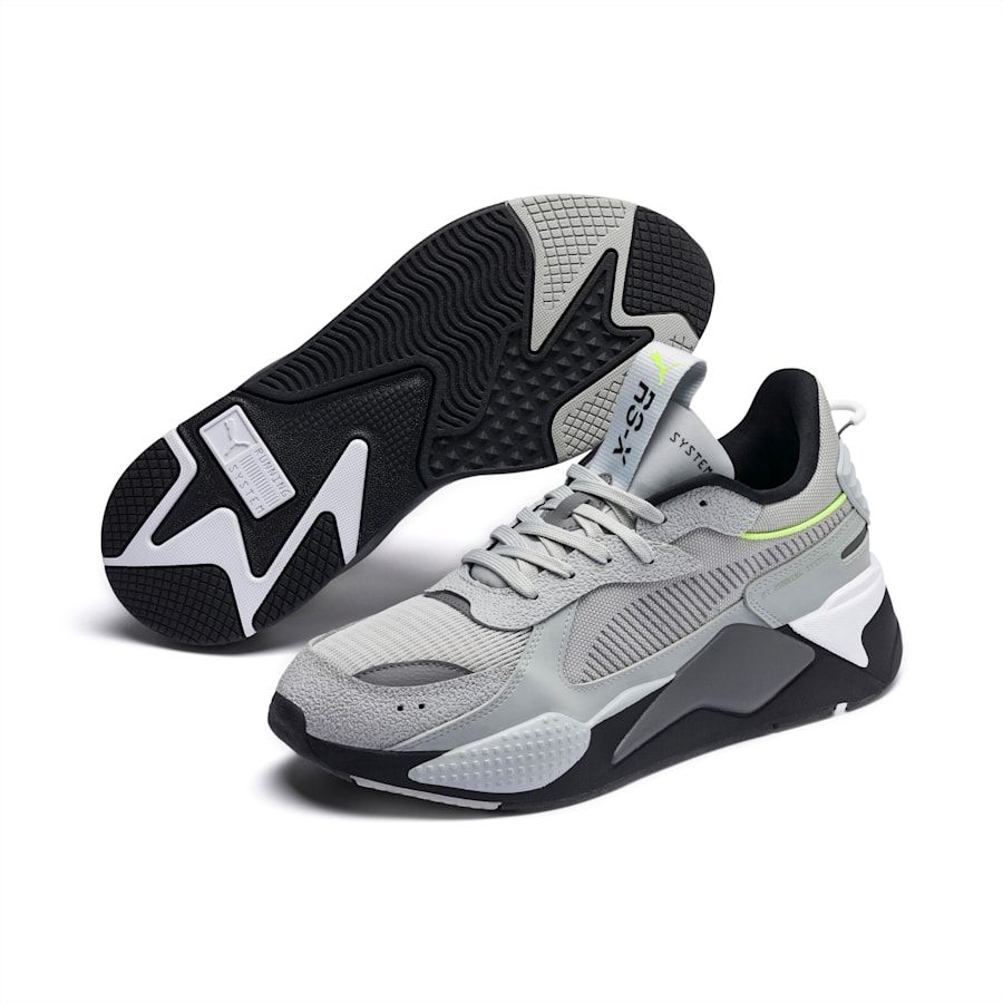PUMA Chaussure Basket RS X Tracks Drive, GrisNoir, Taille