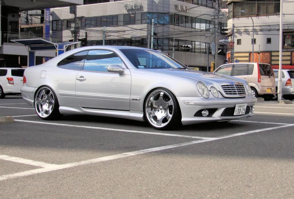 w208 with w209 front bumper Mercedes clk, Mercedes benz