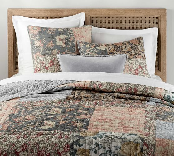 Rosalyn Patchwork Cotton Quilt Amp Shams Cotton Quilts
